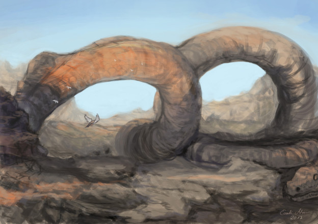 Snakey mountains