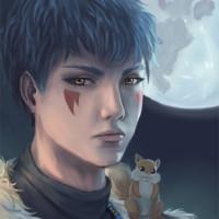 Shin-Ah portrait by Adrienn Ecsedi