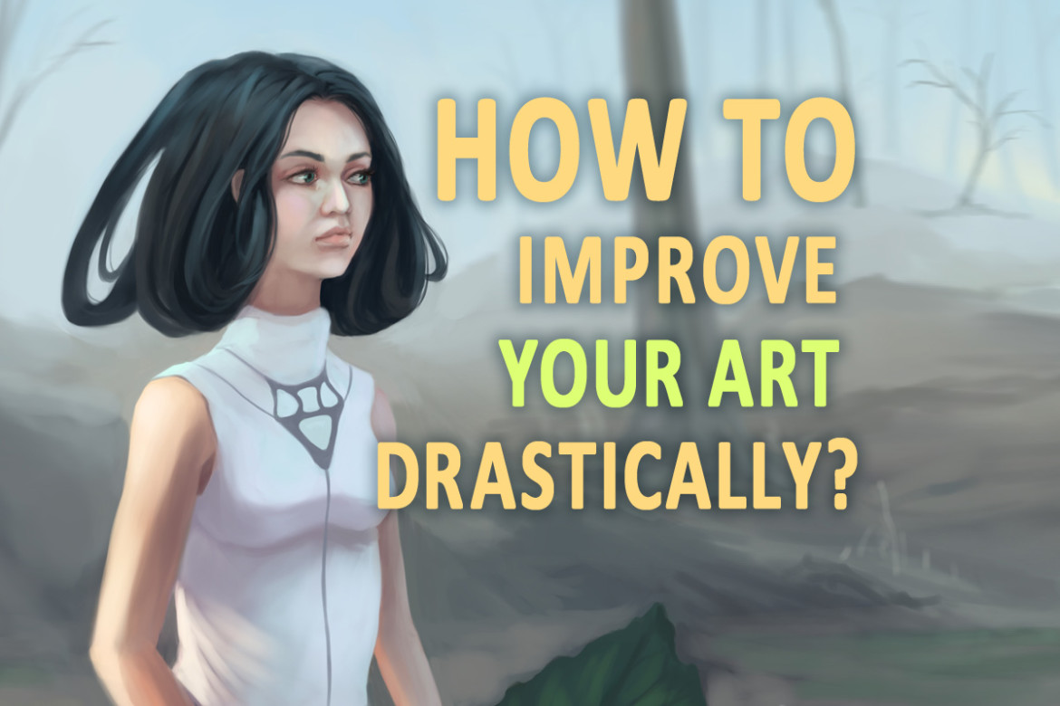 how to improve your art drastically