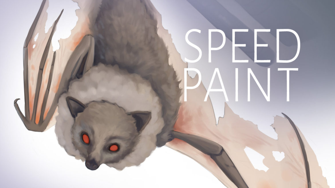 Drawing Bats Speedpaint Video